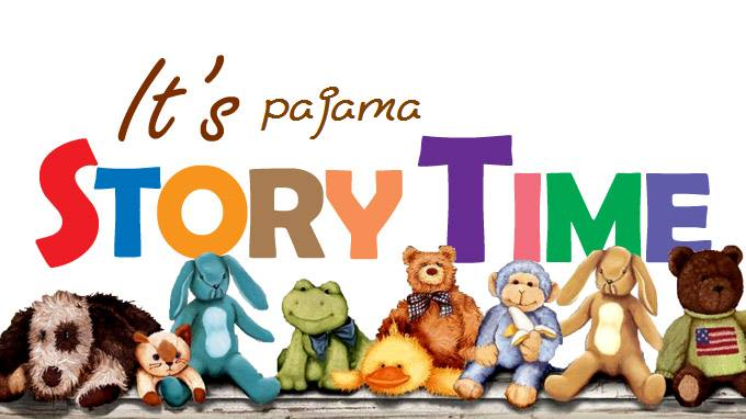 Image result for story time and pjs